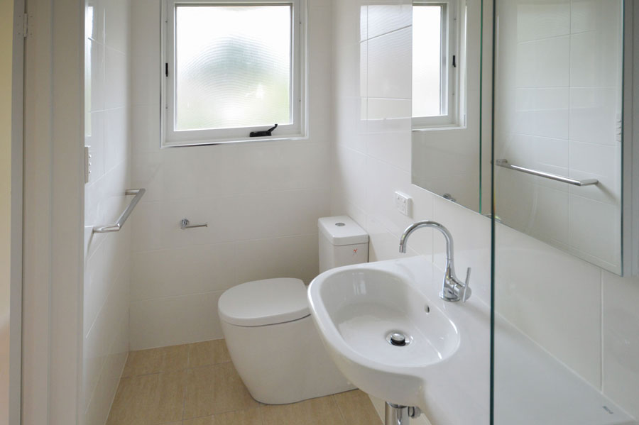 Bathroom design ideas ensuite gunn building canberra for Ensuite bathroom renovation ideas