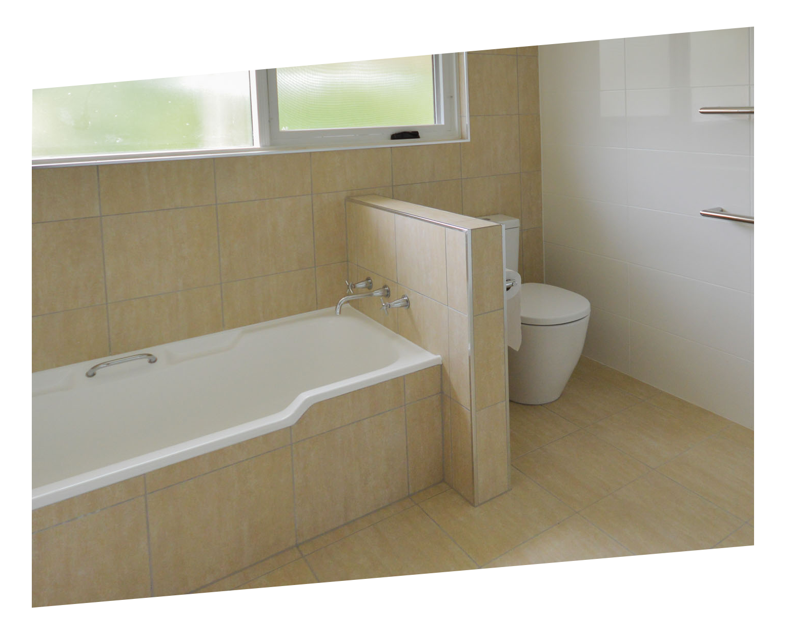 Premium package gunn building canberra bathroom for Small bathroom renovations canberra