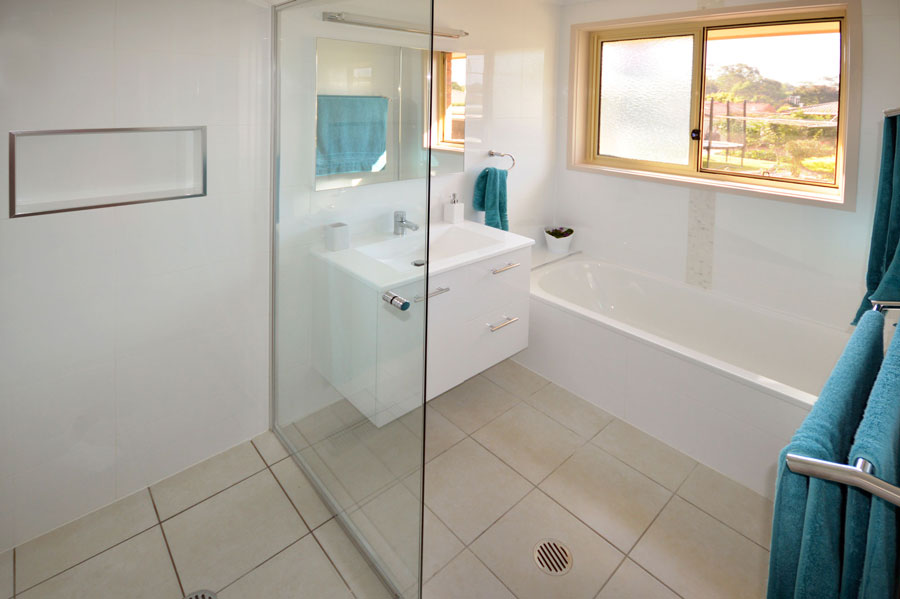 Before after gunn building canberra bathroom for Bathroom renovation before and after