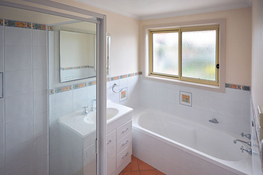 Before-White Bathroom